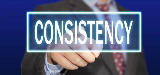 consistency key of success