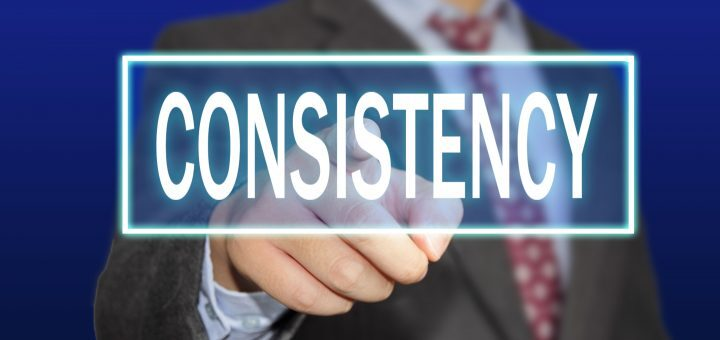 consistency key of success