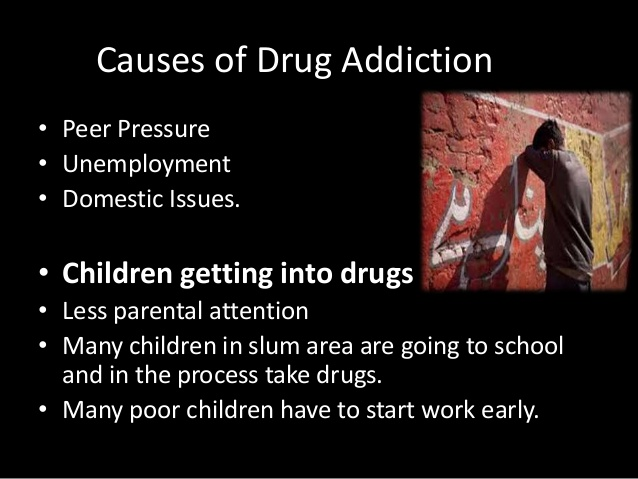 Causes of Drug Addiction