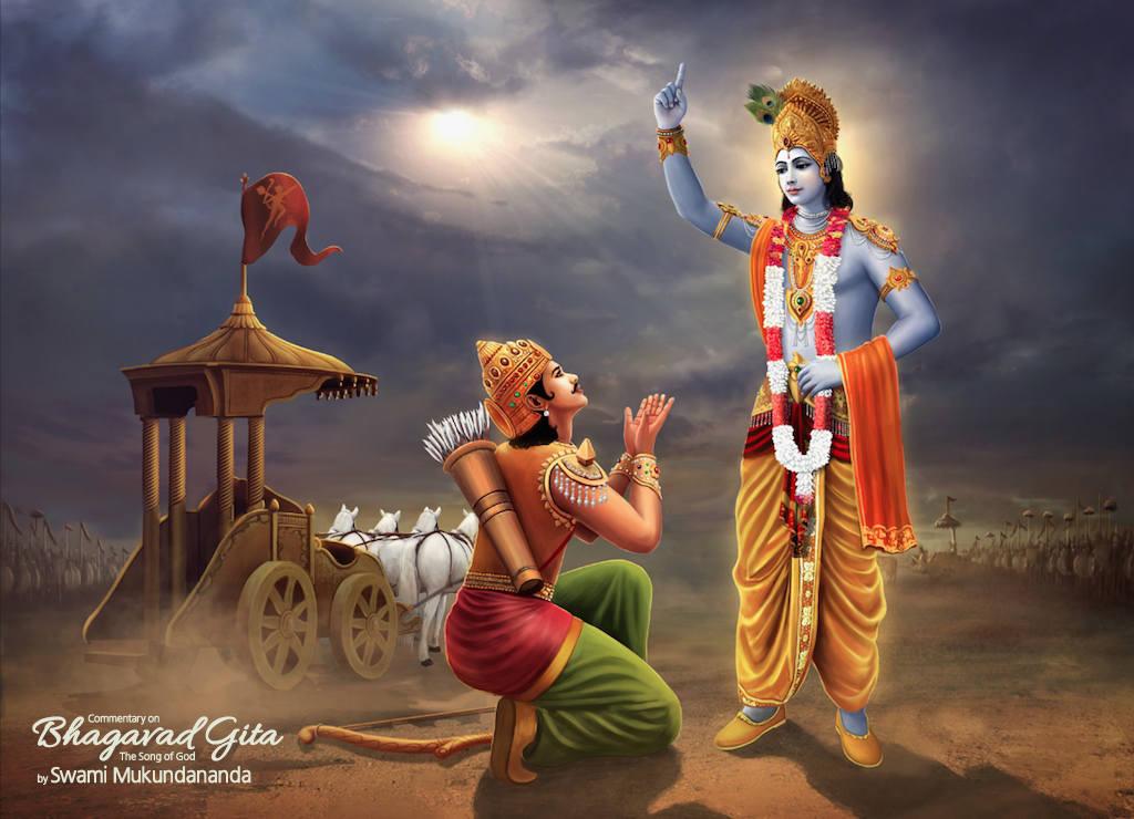 Education and Human Values: arjuna and krishna
