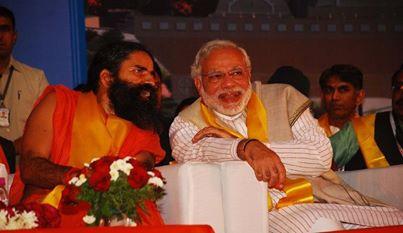 Sh. Narendra Modi And baba Ramdev
