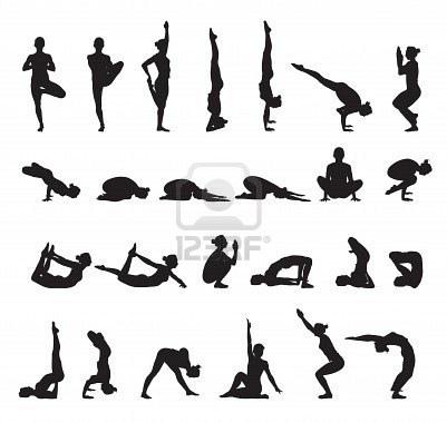 yoga poses(mudras)
