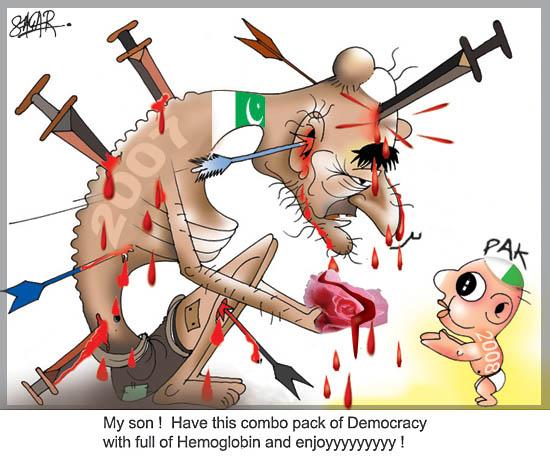 Pak Bleak Democracy