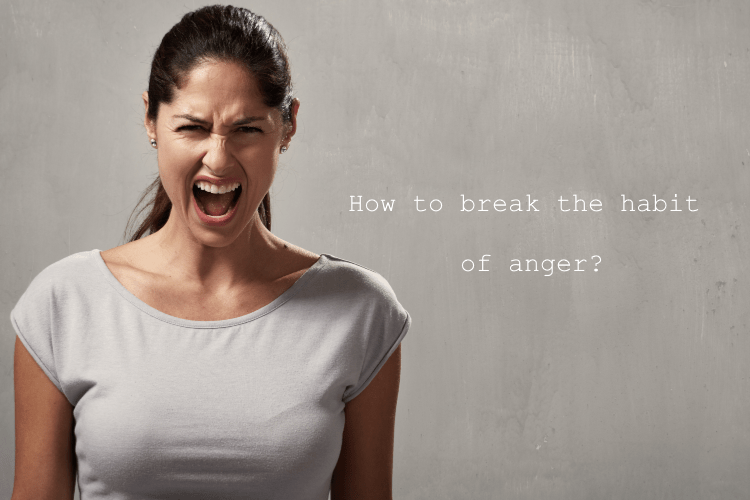 How to break the habit of anger?: angry women