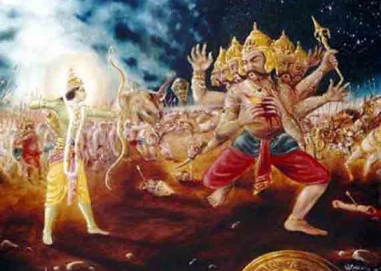 Tips on Statecraft by Ravana: Ravana killed by Lord Rama