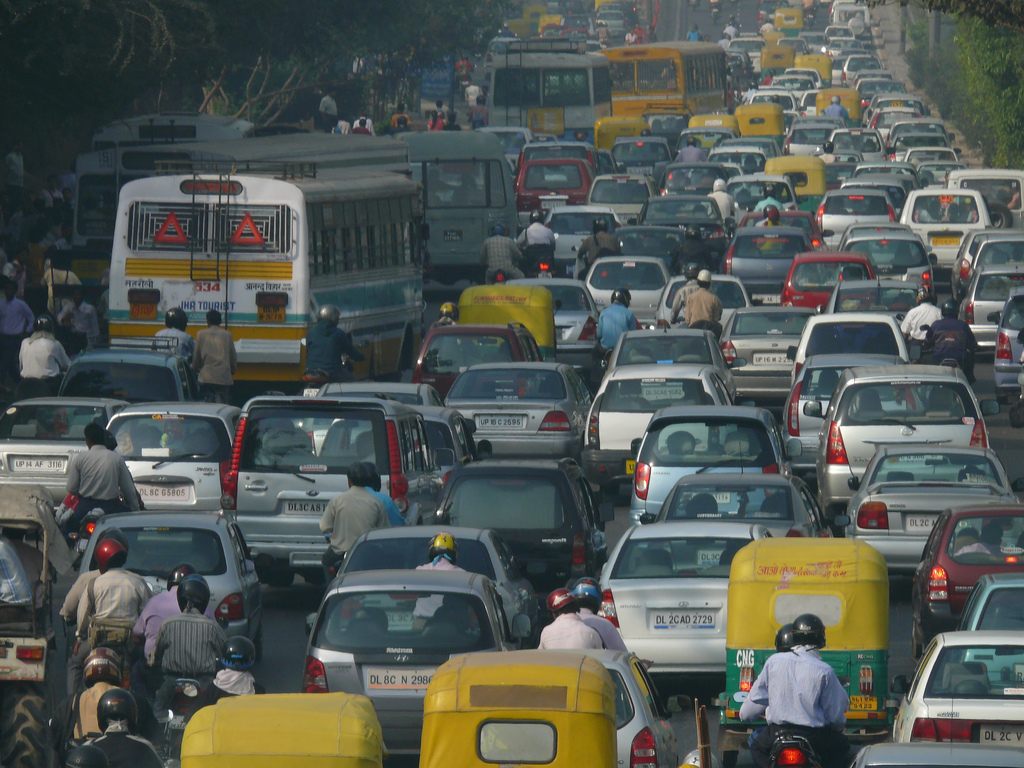 Odd and Even formula for Traffic jam in Delhi