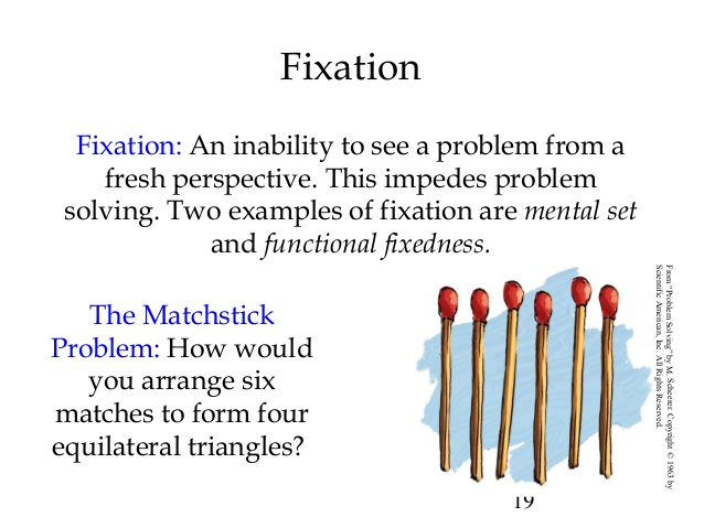 Functional Fixedness