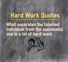 10 Mantras of Success: Hard Work Quote