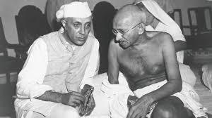 Mahatma Gandhi and Pt. Jawahar Lal Nehru