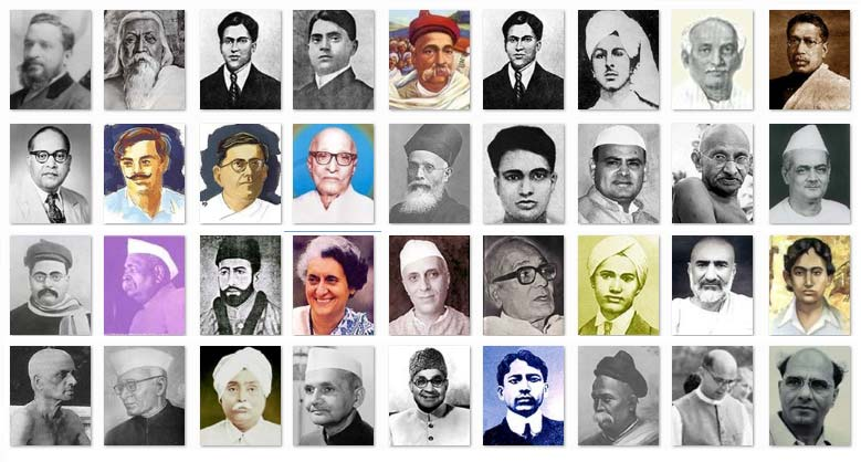 list Indian freedom fighters
