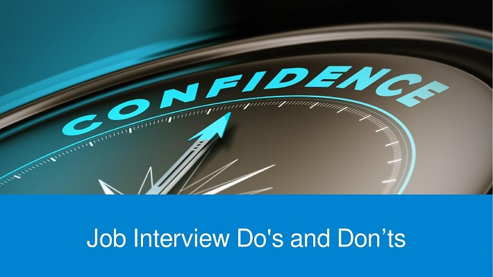 job interview tips Job interviews Do's and Don'ts