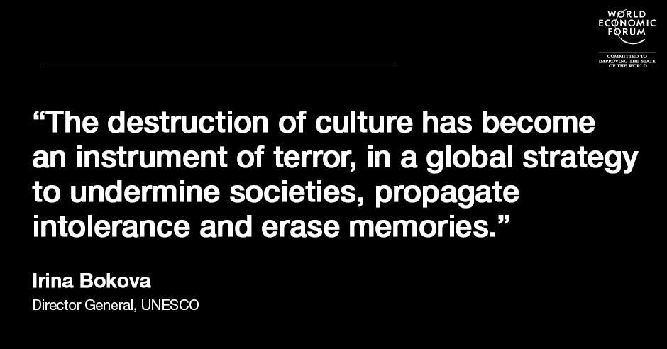 Poverty of Culture: Quote by Irina Bokova