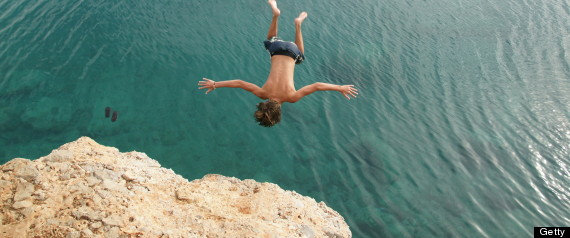 Fearless Life: Rock springer in Greece.