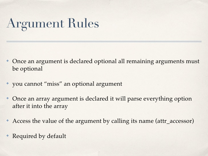 Strategies to win argument: Argument rules