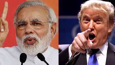 Mr. Narendra Modi and Donald Trump