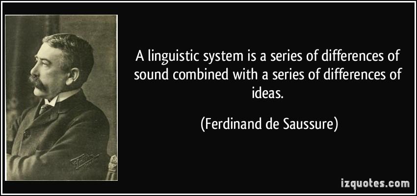 linguistic-quotes by Ferdinand de Saussure