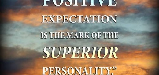 Confident expectation of good