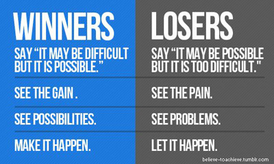 expectation : Winners v/s Losers
