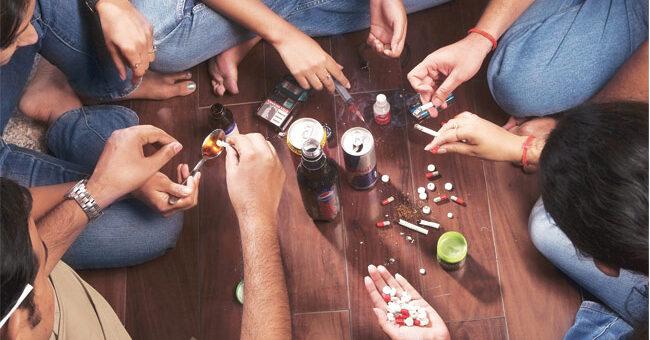 Drug addiction in India